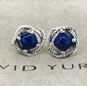 David Yurman Infinity Earrings with Lap